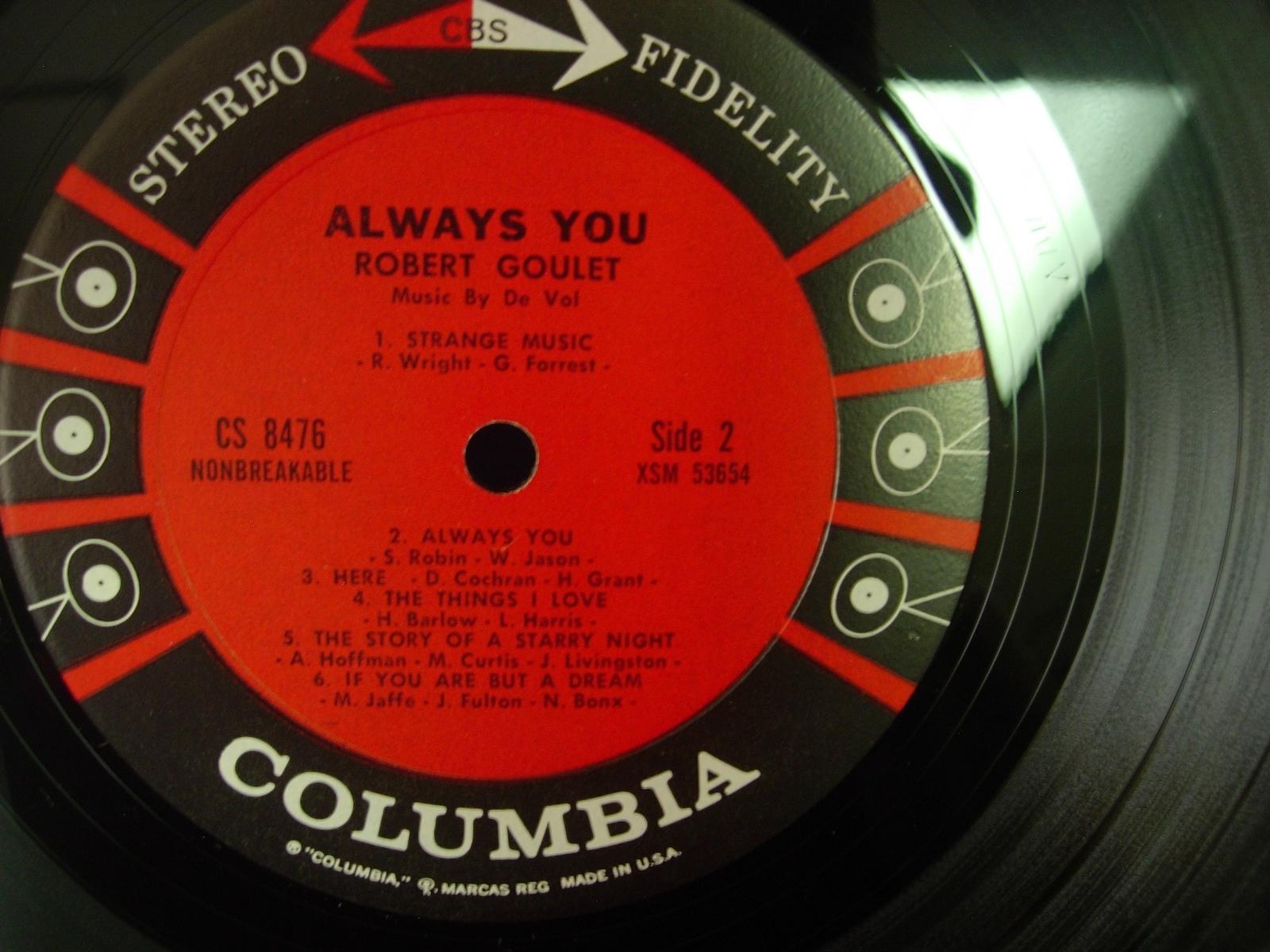 Robert Goulet - Always You - Columbia CS 8476