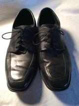 Florsheim Men's Washington leather dress Black Shoes 18359-01 Sz 8D - $74.25