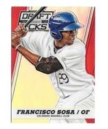2013 Francisco Sosa Panini Prizm Draft Picks Rookie Red Refractor /100 - Rockies - $1.19