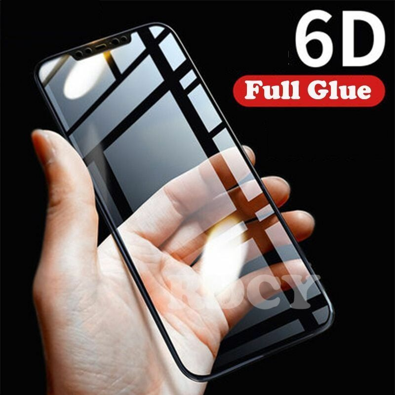 Primary image for Tempered Glass 6D Full Cover Screen Film For Xiaomi  Mi 8 SE A2 Lite Redmi Note