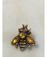 Vintage Bee Pin Brooch - $6.93