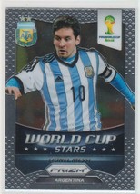 Panini Prizm Would Cup 2014 World Stars Lionel Messi - $159.34