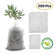 Grow Bag Biodegradable Plant Bags Nursery Pots Seedling Raising Non-wove... - ₹430.42 INR