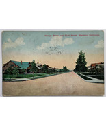 Old Divided Back Postcard View of Orange Street and First St. Glendale, ... - $14.65