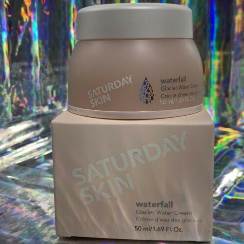 NEW IN BOX Saturday Skin WATERFALL Glacier Water Cream 50mL/1.7oz