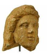 ALEXANDER The GREAT Limestone Male head Ancient Roman Egypt. Arte Primit... - $1,345.50