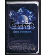 1995 Casper the Friendly Ghost VHS Clamshell Edition Christina Ricci - $13.99