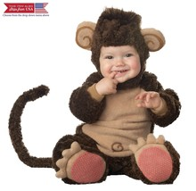 InCharacter Costumes Baby's Lil' Monkey Costume, Brown/Tan, 6-12 Months - $66.47