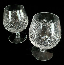 """Pair Waterford Crystal ALANA Brandy Snifter Glasses 5 1/8"""" Made In Irela... - $98.95"""
