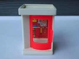 Fisher Price Little People Vintage Telephone Phone Booth #997 - $8.14