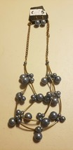 Paparazzi Short Necklace & Earring set (new) #703 SUPERNATURAL BEAUTY - ... - $7.61