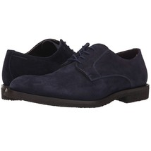 Handcrafted Men Suede Leather Blue Color Magnificiant Party Wear Oxford Shoes - $139.90+