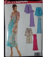 New Look 6458 Sewing Pattern for Pretty Dress Multi-Sized 10-22 - $8.99