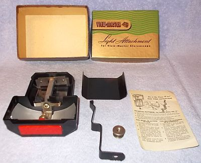Sawyers View Master Stereoscope Light Attachment