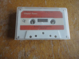 TEXAS INSTRUMENTS TI 99/4A Ghost Town text adventure cassette for Advent... - $5.99