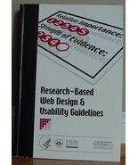 Research-Based Web Design & Usability Guidelines - NIH 2003 - $19.95