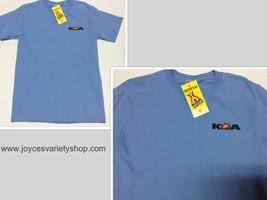 KOA Kamp Gear Short Sleeve NWT T-Shirt Official Sz Adult S Blue Ultra Co... - $10.99