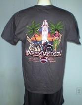 Harley-Davidson Charcoal T-Shirt Large Kauai, Hawaii NWT image 2