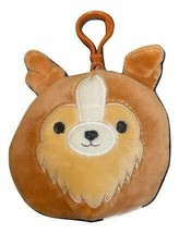 "Squishmallow Kellytoy 3.5 Inch Dog Clip On Keychain (3.5"" Andres The She... - $8.45"