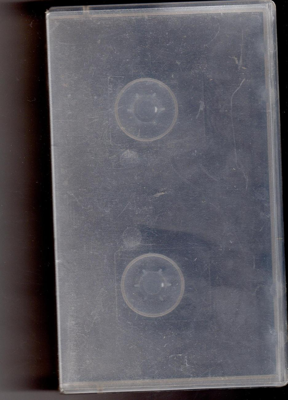 Primary image for VHS Plastic  Video Storage Case -Translucent