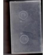 VHS Plastic  Video Storage Case -Translucent - $2.95