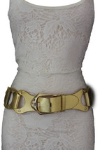 N. Women Metallic Gold Fashion Belt Elastic Hip... - $18.60
