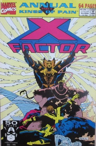 X-Factor #6 Annual [Comic] [Jun 01, 2000] Fabian Nicieza & Terry Shoemaker Kings