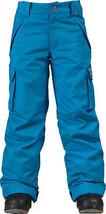 New Burton Boys Exile 5k Waterproof Snowboard Ski Insulated Kids Pants S... - $94.71
