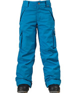 New Burton Boys Exile 5k Waterproof Snowboard Ski Insulated Kids Pants S... - $94.71