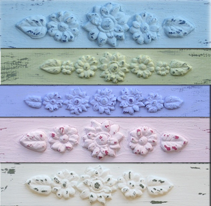 NECKLACE Hanger Jewelry Organizer And Display Shabby Chic / Light Blue