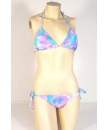 Rampage Swim 2 Piece Purple & Blue String Bikini Swim Suit Womans NWT $94 - $56.24