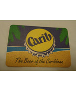 Carib the Beer of the Caribbean  Coaster  Drinks mat Beer Mat Trinidad &... - $2.38