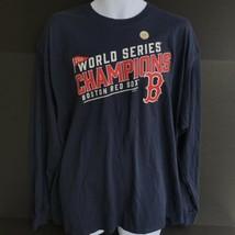 MLB Boston Red Sox World Series Champions 2018 Long Sleeve TShirt Adult ... - $22.99