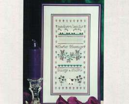CLEARANCE A is for April OOP spring cross stitch chart Elegant Designs - $3.75