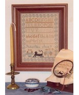 CLEARANCE Phebe Allen Sampler 1817 cross stitch Margaret & Margare - $3.00