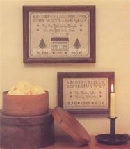 CLEARANCE Shaker Life Samplers cross stitch Margaret & Margaret - $3.00