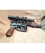 STAR WARS HAN SOLO BLASTER HERO VERSION ALL STEEL HAND MADE ONLY HERE SE... - $1,700.00