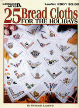 CLEARANCE25 Bread Cloths For The Holidays Leisu... - $1.75