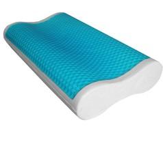Abripedic Comfort Contour Cool Gel Memory Foam Pillow (Single or Set of 2) - $44.99+