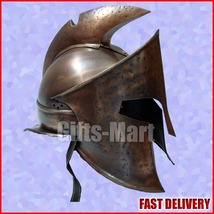 300 Rise of an Empire Spartan king Helmet Ancient Greek Movie Collectible gift - $120.00