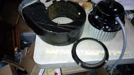 """6AA53 FAN FROM COOKTOP, A BIT GREASY, WORKS GREAT, 6"""" INTAKE, 5"""" EXHAUST... - $29.66"""