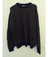 Knightsbridge Sweater Men's Acrylic Wool Crewneck Size XL RN 92607 - $25.60