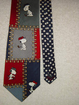 Peanuts Snoopy Playing Golf Men's Neck Tie - $12.00