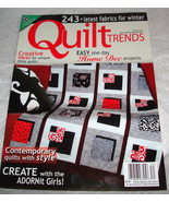 Quilt Trends ~ WINTER 2013 ~ 243+ Latest Fabrics for Winter ~ New Condition - $3.99