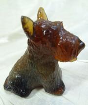 Duke Scottie Scottish Terrier Dog Dark Ginger Glass 04/07/2003 - $15.88