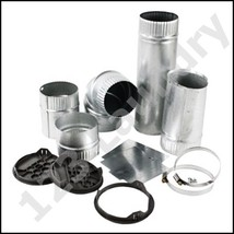 Whirlpooldryer 4-way side exhaust vent kit 279818 for model # CGT8000XQ - $49.99
