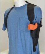 Shoulder Holster for S&W SD9VE & SD40VE with Laser Mounted on Gun Vertical - $24.65