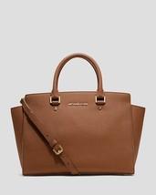 MICHAEL Michael Kors Saffiano Leather Selma Large Top Zip Satchel - NWT ... - $229.99