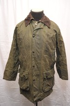 BARBOUR A200 BORDER WAX COTTON COUNTRY JACKET G... - $100.98