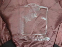 Vintage 80's Robert Lee Kolb Local Heroes 1985 Tour concert RARE satin  ... - $39.54